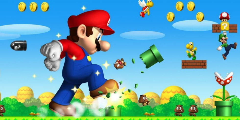 "Game ""Super Flash Mario Bros"""