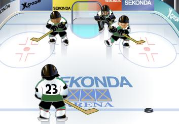 "Game ""Ice Hockey Seconda"""
