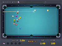 "Game ""Quick Shooting Pool"""