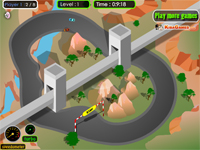"Game ""Mountain View Racer"""