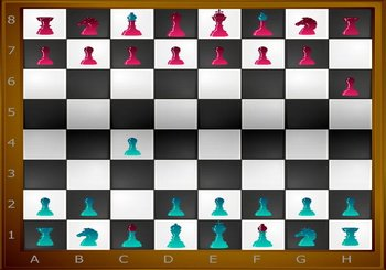 "Spēle ""Flash Chess"""