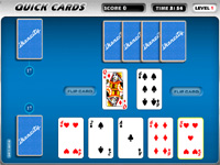 "Game ""Speed Card"""
