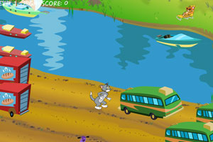 "Game ""Tom and Jerry in Cat Crossing"""