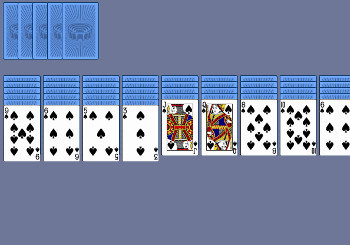 "Game ""Spider Solitaire"""