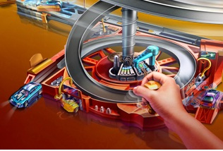 "Game""Hot Wheels Spin City"""
