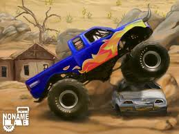 "Game ""Monster Truck Trip 2"""