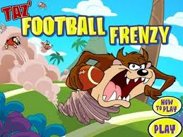 "Game ""Taz Football Frenzy"""