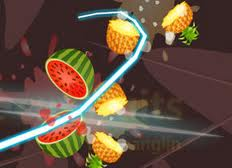 "Game ""First Cut Fruits"""