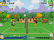 "Game ""Tricky Duck Volleyball"""