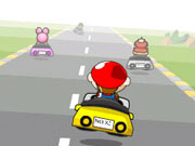 "Game ""Mario Speed Racer"""