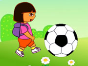 "Game ""Dora Play Football"""