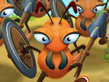 "Game ""Ants Warriors"""