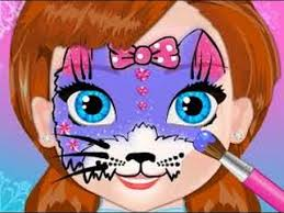 "Game ""Frozen Anna Face Painting"""