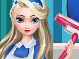 "Game ""Elsa Clean House"""