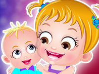 "Game ""Baby Hazel Siblings Day"""