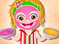 "Game ""Baby Hazel Spa Makeover"""