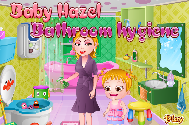 "Game ""Baby Hazel Bathroom Hygiene"""