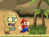 "Game ""Mario Egypt Run"""