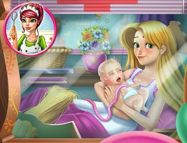 "Game ""Rapunzel Birth Care"""