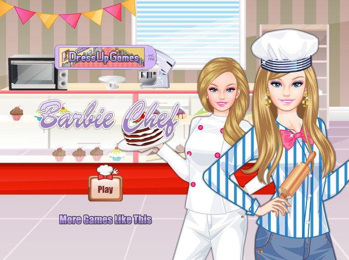"Game ""Barbie Chef"""