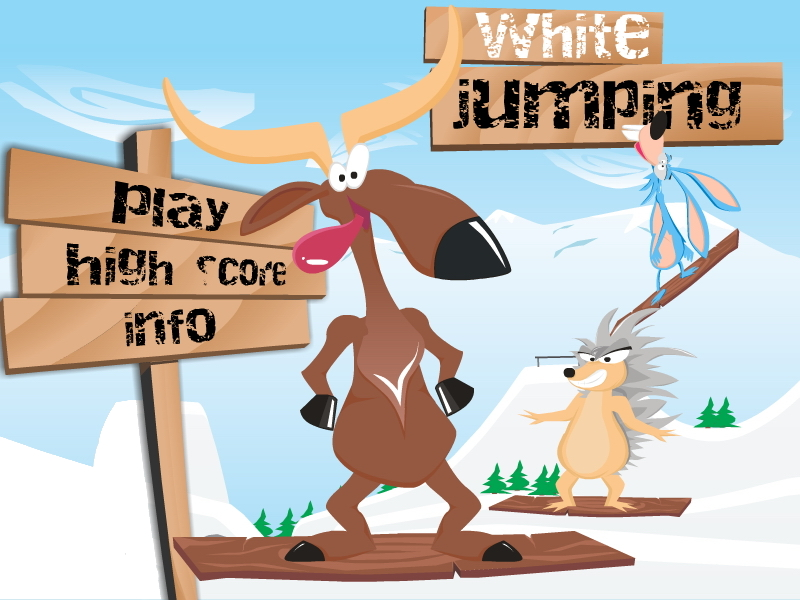 "Game ""White Jumping"""