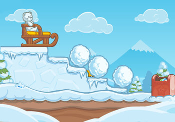 "Game ""Candy Winter"""