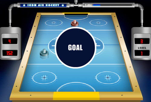 "Game ""Air Hockey"""