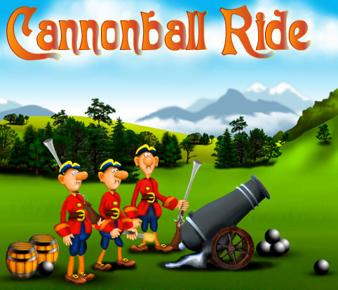"Game ""Cannonball Ride"""