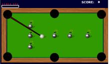 "Game ""Bomb Billiards"""