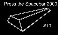 "Game ""Press the Spacebar"""