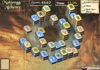 "Game""Mahjongg Alchemy"""