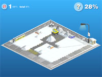 "Game ""Snow Storm"""