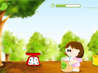 "Game ""Mango Fly"""