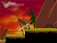 "Game""Armadillo Knight 2"""