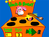"Game ""Wack a Bunny"""