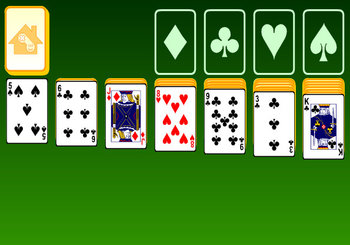 "Game""Klondike Solitaire"""
