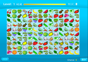 "Игра""Fruits and Vegetables"""