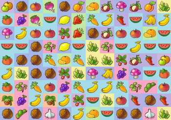 "Spēle""Fruits and Vegetables 2"""