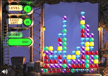 "Game ""Gem Mine"""
