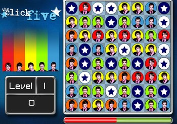 "Game ""The Click Five Super Switch"""