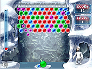 "Game ""Yeti Bubbles"""