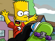 "Игра""Bart Simpson Skateboarding"""