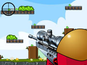 "Game""Shoot Green Piggy"""