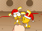"Game""Bounce Christmas Rabbit"""
