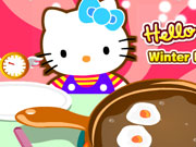 "Game""Hello Kitty Winter Breakfast"""