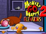 "Game ""Monkey Go Happy Elevators 2"""