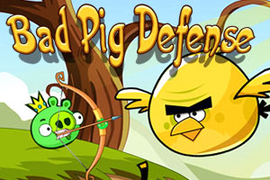 "Игра""Bad Pig Defense"""