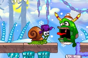 "Игра""Snail Bob 6 Winter Story"""