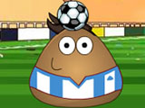 "Game""Pou Juggling Football"""