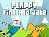 "Žaidimas""Flappy Finn And Jake"""